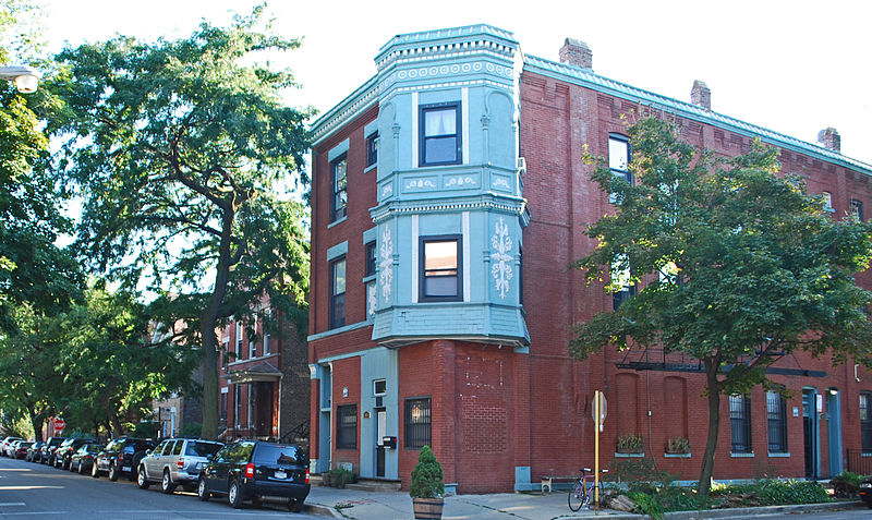interesting architecture in east village historic district