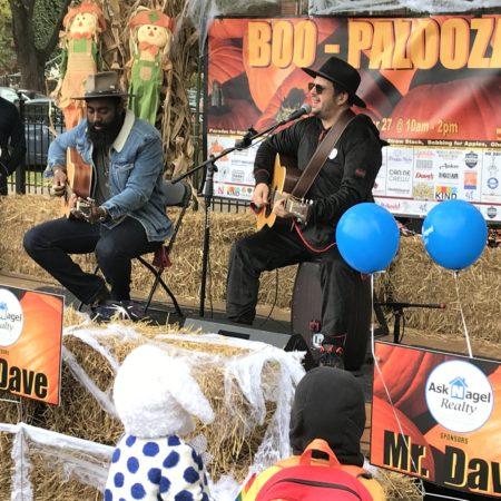 musical performance at Boo-Palooza