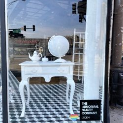 Deciem storefront window