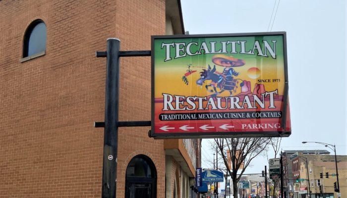 exteior of Tecalitlan Restaurant