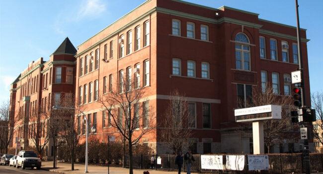 exterior of Blaine Elementary School